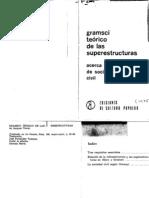 Gramsci Teorico de Las Superestructuras. - Jacques Texier