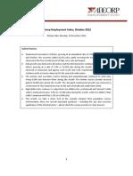 Adcorp Employment Index - 201211
