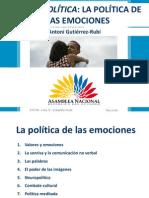 Política de las emociones