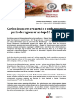 COMUNICADO DE IMPRENSA | CARLOS SOUSA - 5ª ETAPA DAKAR'2013