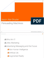 Persuading Machines