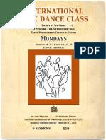 International Folk Dance Class at Tabor Church in Crozet