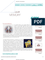 The Cellular Memory