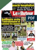 LE BUTEUR PDF du 10/01/2013
