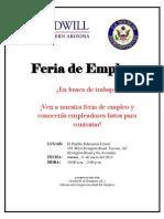 Community Job Fair - Spanish Flyer_2013