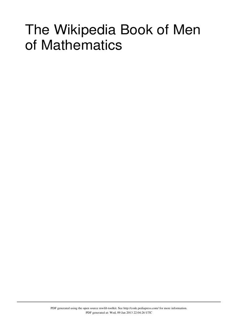 The men of mathematics ratio physics mathematics fandeluxe Gallery