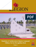 Military Service Recognition Book Vol.II (Manitoba and North Western Ontario)