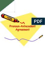 subject pronoun agreement powerpoint