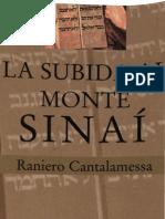 Cantalamessa Raniero La Subida Al Monte Sinai