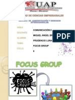 Focus Group Ppt