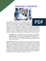 Planilla de Remuneraciones en Construccioón Civil