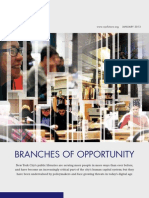 Branches of Opportunities, Center for an Urban Future