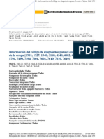 Codigos Caterpillar