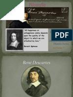 René Descartes y Baruch Spinoza