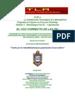 Uso_correcto_TIC´s–FATLA–Capacitación_UNEFA-Modulo_5–Acuciosos_ Emprendedores