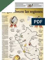 Lo Que Ofrecen Las Regiones