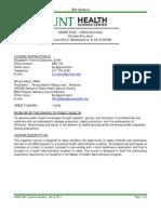 HMAP 5302_Capstone Syllabus_ Jan 8_2013 (2)