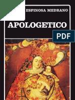 Espinosa Medrano Juan - Apologetico (1)