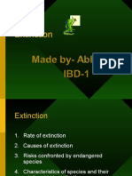 Extinction Ppt