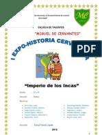 Monografia de Los Incas