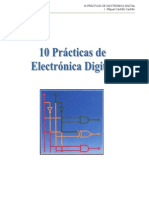 10 PRACTICAS DE ELECTRONICA DIGITAL