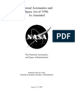 national space act