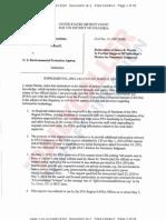 CEI v EPA Region 8 -- Martin Reply Declaration