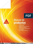 Manual de Productos Sika 2013