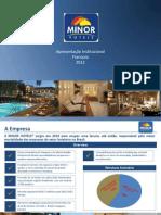 1 - Apresentação Institucional MINOR HOTELS Franquia- (2012)
