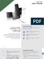 Samsung SGH-F480 User Manual