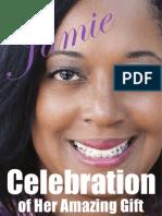 Jamie Foster Celebration of Life Book