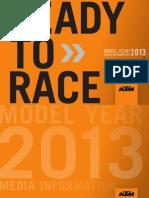 KTM modelos 2013