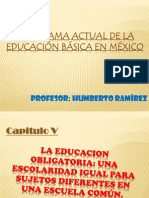 La educación obligatoria