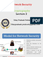 Network Security & Cryptography Lecture 2