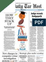 The Daily Tar Heel for January 10, 2013