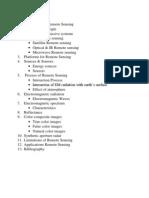 seminar report on remote sensing