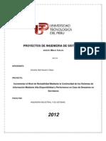 Incrementar el Nivel de Rentabilidad Mediante la Continuidad de los Sistemas de Información Mediante Alta Disponibilidad y Performance en Caso de Desastres en Servidores