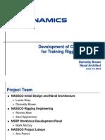 061312 Training Rigging Engineers