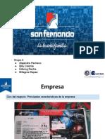 Análisis Económico de la avícola peruana San Fernando.
