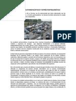 Accidentes automovilísticos y estrés postraumático.