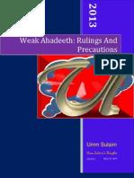 Weak Ahadeeth