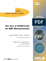 The Use of GTEM cells for EMC Measurements