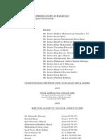 Supreme Court Verdict on NRO (2009)