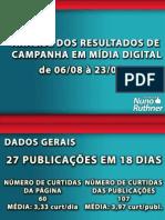 Análise primeira fase campanha Nuno