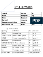 Unit 4 notes