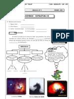 I BIM - 1er. Año - Geografía - Guía 5- Universo - Estructura