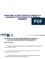 Fresh Import Export Seasonality