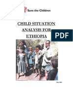 child situation analysis for ethiopia