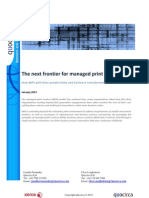 The Next Frontier for Managed Print Services
