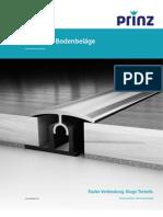 Prinz Katalog 2013 - Profile für Bodenbeläge